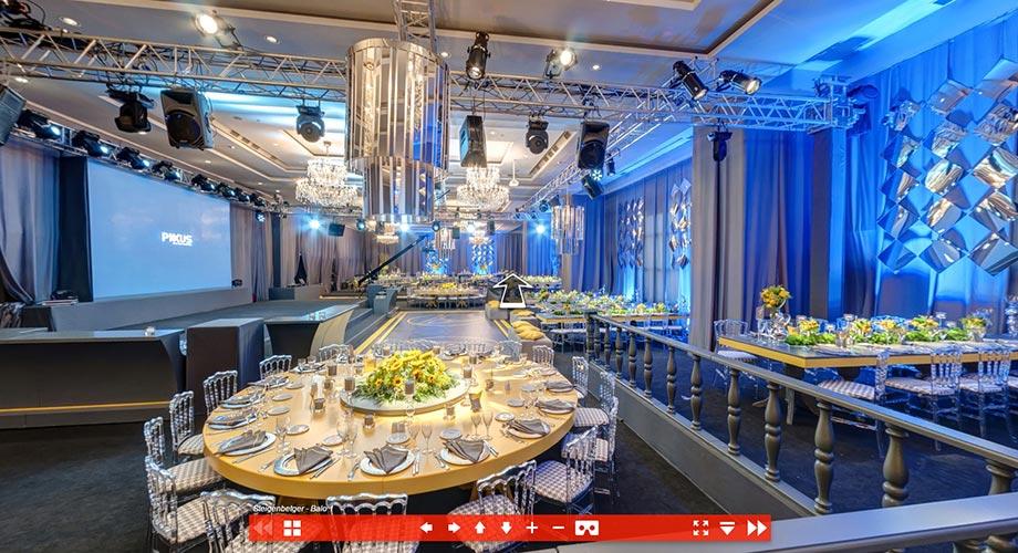 Steigenberger 360 Sanal Tur, Otel sanal tur, Düğün salonu sanal tur