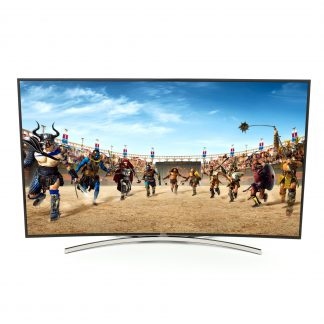 360° TV fotoğrafı - Samsung oled tv curve