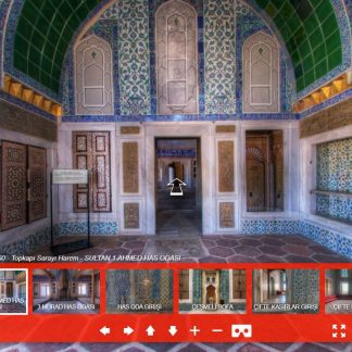 Topkapı Sarayı Harem 360 Sanal Tur panorama