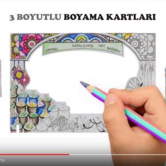 boyama kartları animasyon video