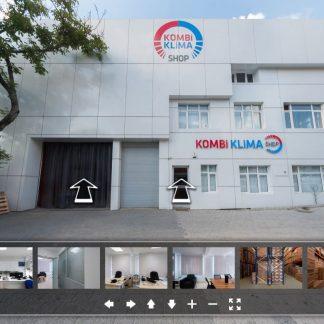 kombi klima shop fabrika 360 sanal tur