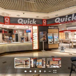 quick burger cevahir restoran 360 sanal tur