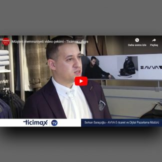 Müşteri memnuniyeti video çekimi - Ticimax - Avva
