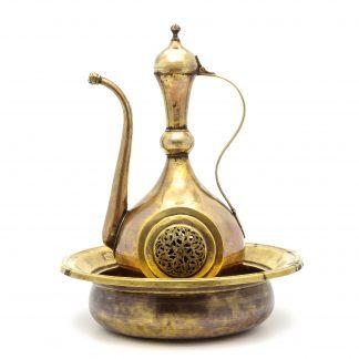 360° tarihi eser fotoğrafı - Leğen ibrik - Hazine bölümü / Topkapı sarayı Harem eserleri