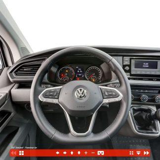 Panelvan 360 Ticari araç içi fotoğrafı sanal tur / Volkswagen Türkiye