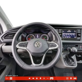 City van 360 Ticari araç içi fotoğrafı sanal tur / Volkswagen Türkiye